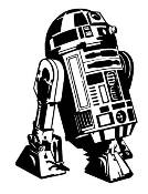 R2D2 Decal Sticker