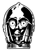 C3PO Decal Sticker