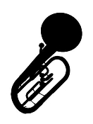 Tuba v3 Decal Sticker