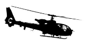 Helicopter v14 Decal Sticker
