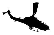 Helicopter v16 Decal Sticker