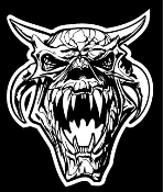 Monster Skull v4 Decal Sticker