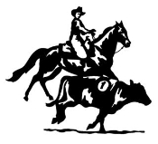 Cutting Horse v2 Decal Sticker