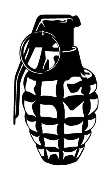 Grenade v1 Decal Sticker