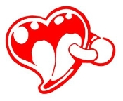 Heart v5 Decal Sticker