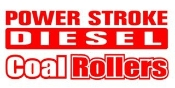 Power Stroke Coal Rollers v2 Decal Sticker