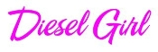 Diesel Girl Decal Sticker