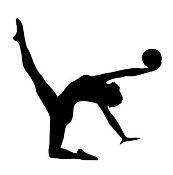 Gymnastics Ball 2 Decal Sticker