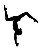 Gymnastics Floor Decal Sticker