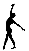 Gymnastics Floor 2 Decal Sticker