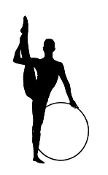Gymnastics Hoop 1 Decal Sticker