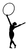 Gymnastics Hoop 2 Decal Sticker