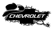 Chevrolet Cowboy v3 Decal Sticker