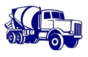 Cement Truck Decal Sticker