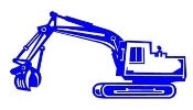 Excavator v1 Decal Sticker