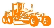 Grader Decal Sticker