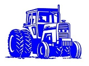 Tractor v1 Decal Sticker