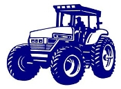 Tractor v2 Decal Sticker
