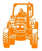 Tractor v3 Decal Sticker