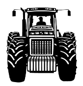 Tractor v5 Decal Sticker