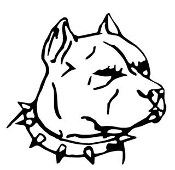 Pit Bull Head v2 Decal Sticker