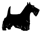 Scottish Terrier v3 Decal Sticker