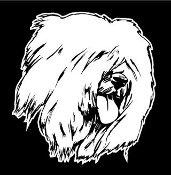 Sheep Dog Decal Sticker