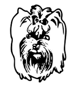 Yorkshire Terrier Head Decal Sticker
