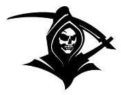 Grim Reaper v6 Decal Sticker