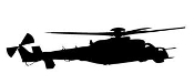Helicopter v29 Decal Sticker
