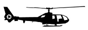 Helicopter v30 Decal Sticker