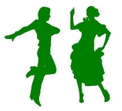 Flamenco Dancers Decal Sticker
