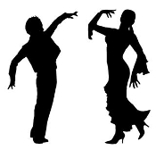 Latin Dancers v4 Decal Sticker