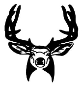Deer Head v13 Decal Sticker