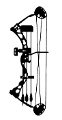 Compound Bow Decal Sticker