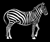 Zebra v3 Decal Sticker