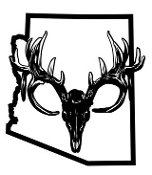 Arizona Deer Skull Decal Sticker