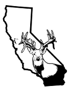 California Deer Hunting v2 Decal Sticker