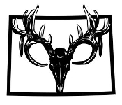 Colorado Deer Skull Decal Sticker