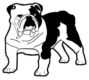 Bulldog v8 Decal Sticker