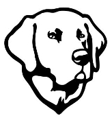 Labrador Head v2 Decal Sticker