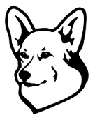 Pembroke Welsh Corgi Decal Sticker