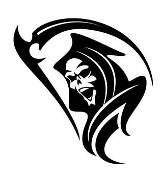 Grim Reaper v7 Decal Sticker