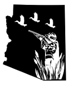 Arizona Duck Hunting Decal Sticker