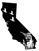 California Duck Hunting Decal Sticker