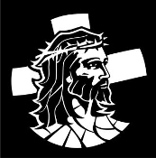 Jesus v7 Decal Sticker