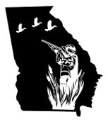 Georgia Duck Hunting Decal Sticker