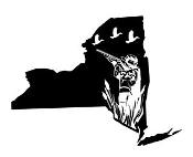 New York Duck Hunting Decal Sticker