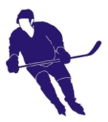 Hockey Player v11 Decal Sticker
