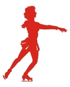 Figure Skater v7 Decal Sticker